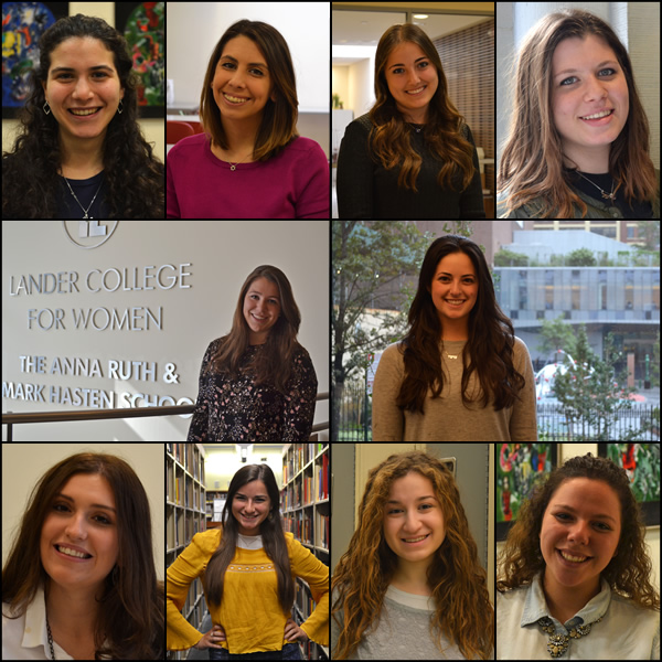 Meet the new students at Lander College for Women, fall 2016 (homepage banner image)