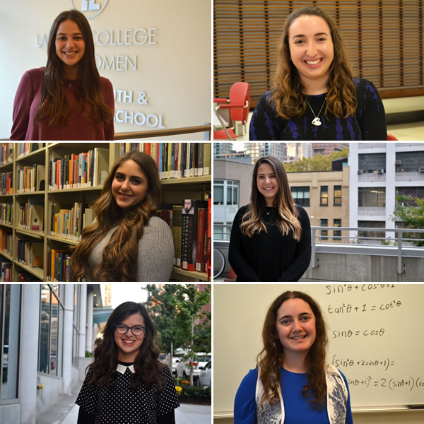 Meet Meet Abby, Hannah, Julya, Rebecca, Sarah Baila, and Alissa, who just started at LCW this fall.