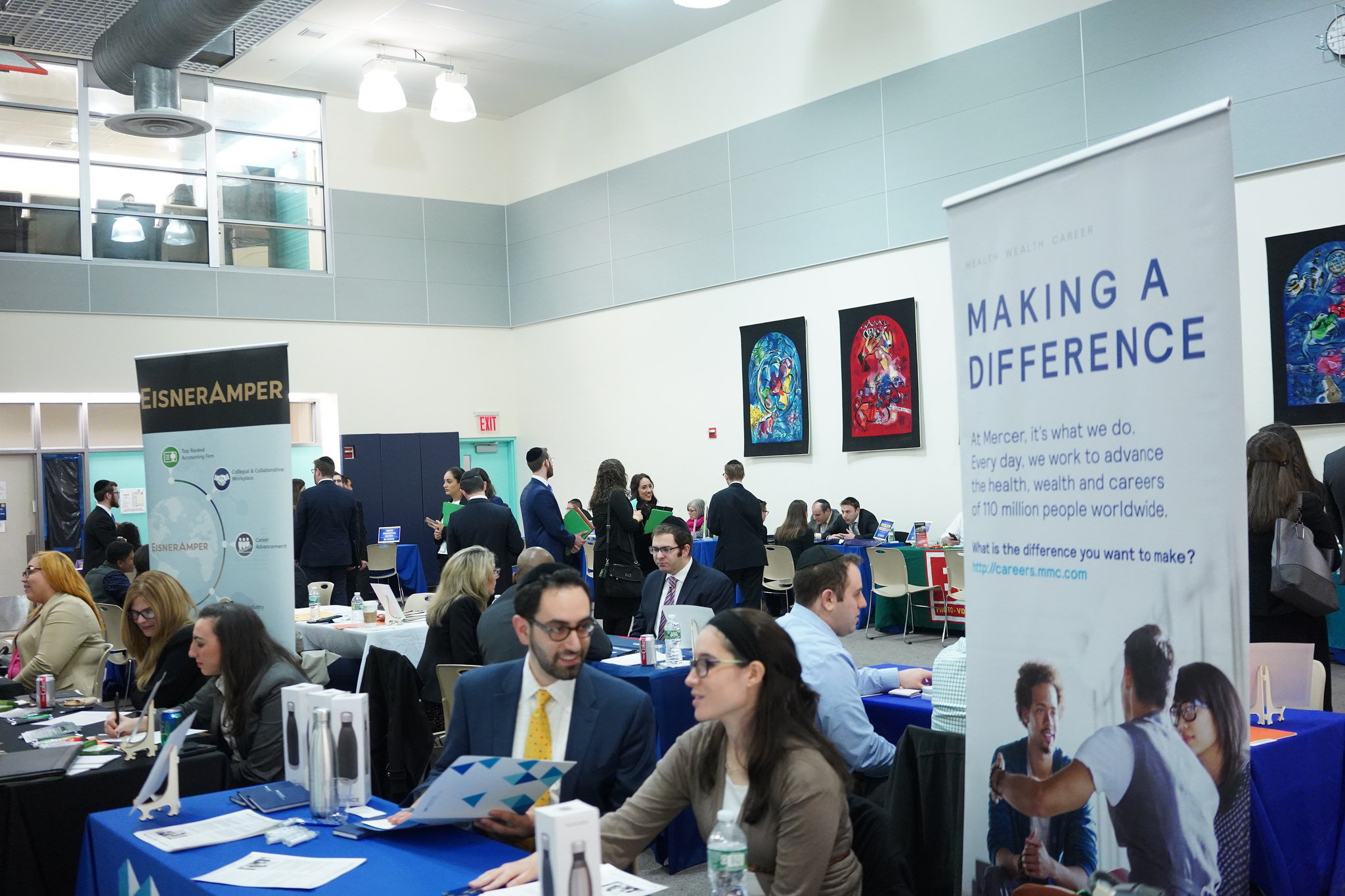 The fall 2018 undergraduate career fair.